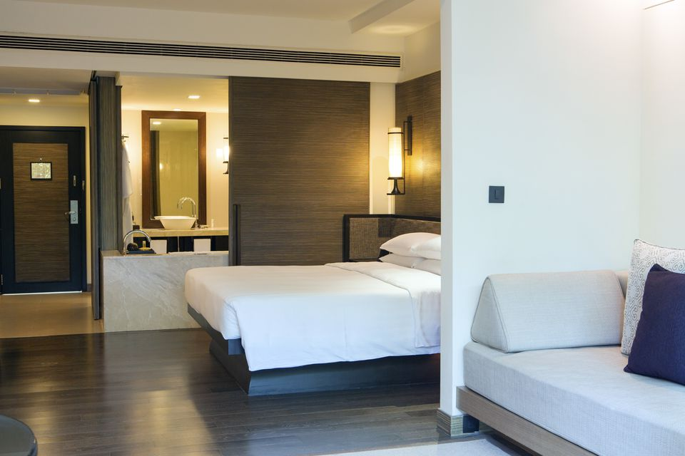 South East Asia, Thailand, Phetchaburi Province, Hua Hin, Hyatt Regency Hua Hin, a room in the hotel (PR)