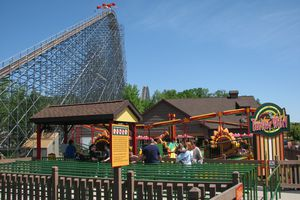 Holiday World - Turkey Whirl and The Voyage