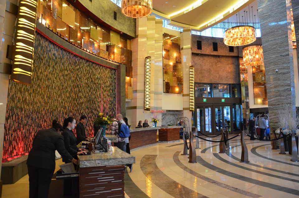 Foxwoods Fox Tower Hotel Lobby