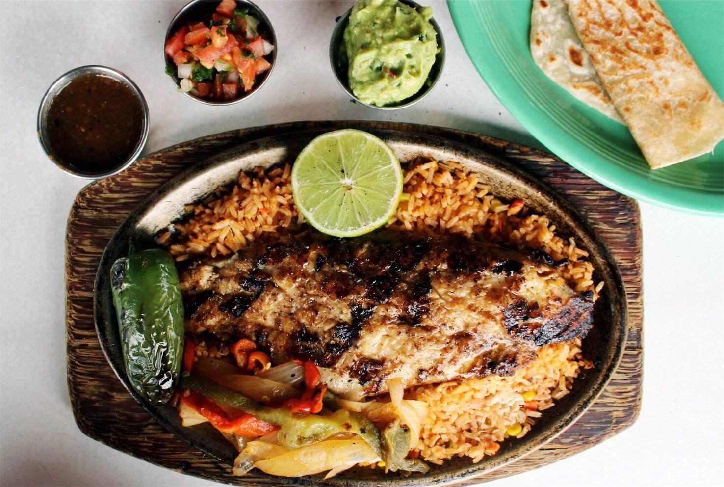 Goode Company seafood, mesquite catfish