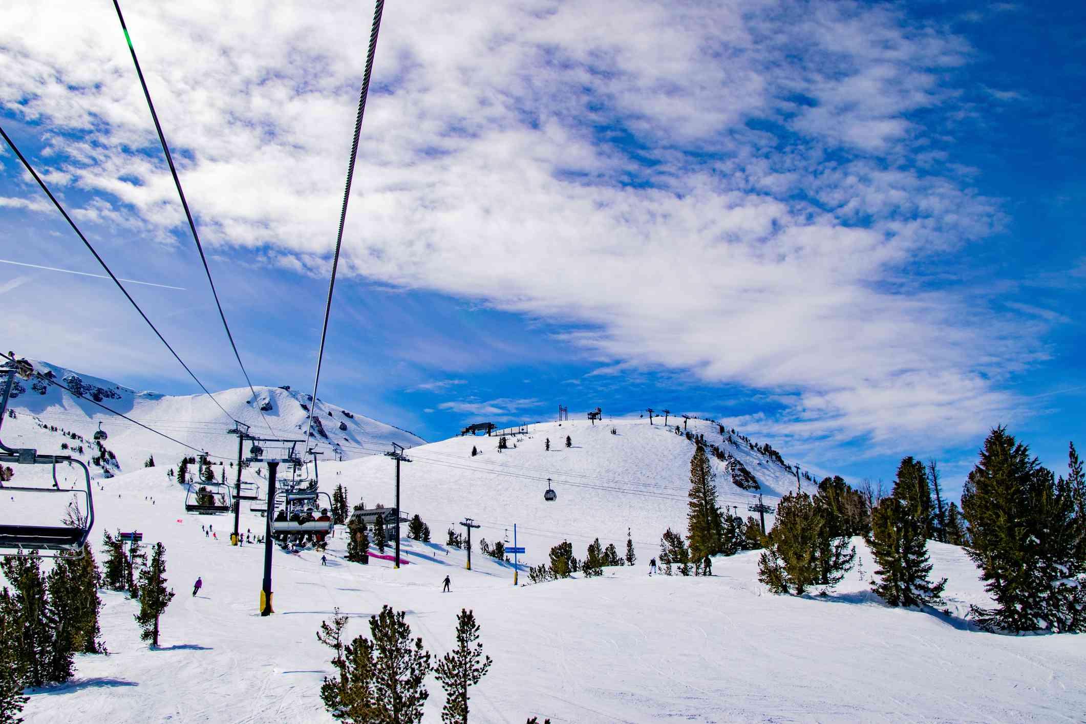 Skiing and Snowboarding at Mammoth