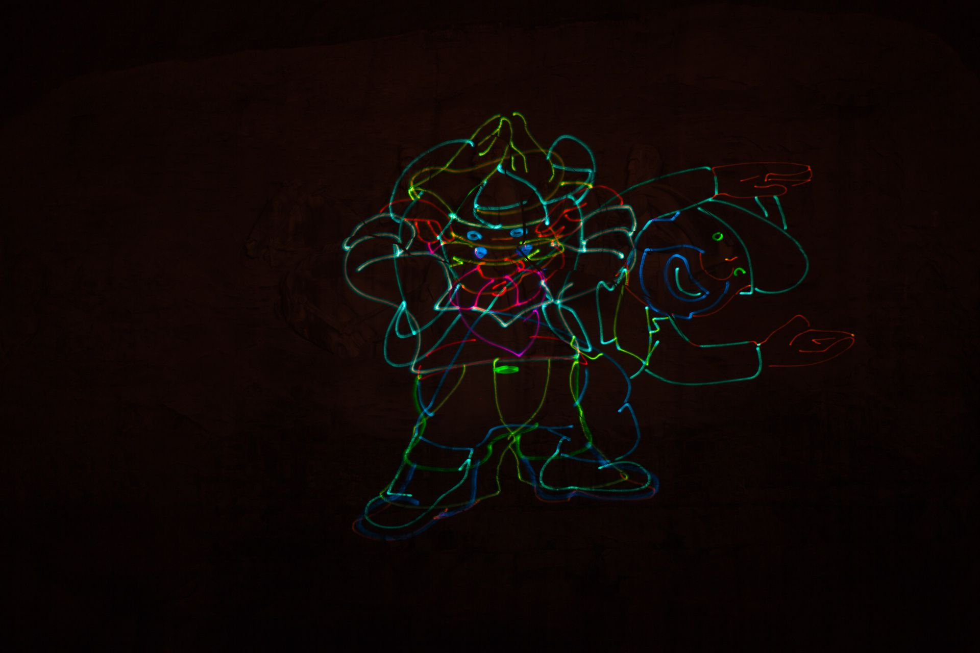 Don't forget to catch the light show at Stone Mountain Park