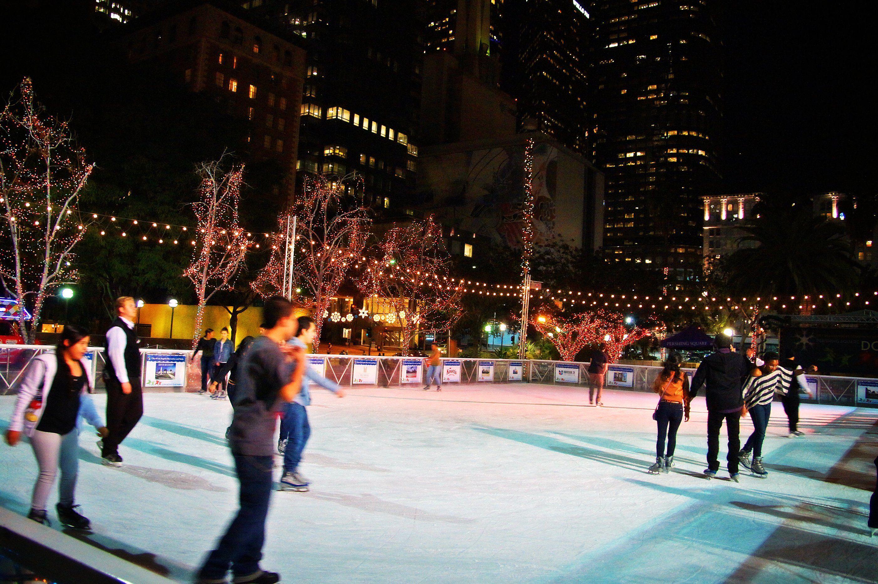 LA Ice Outdoor Ice Skating Rinks in Los Angeles CA