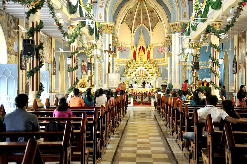 Interior Decoration of Mount Mary Church, Mumbai