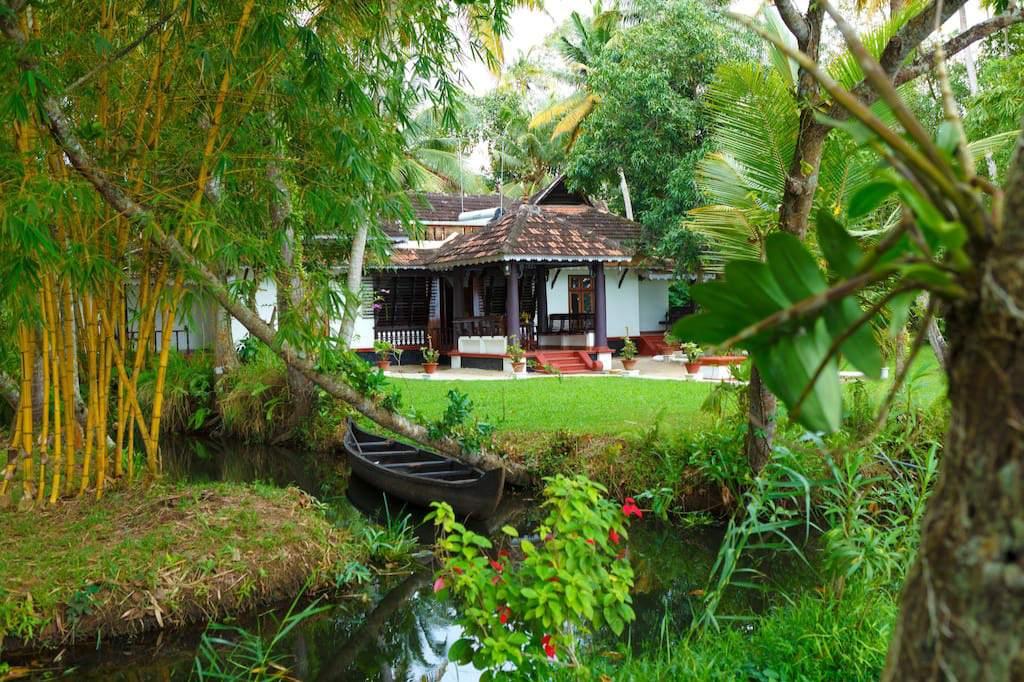 Vembanad House, Kerala.