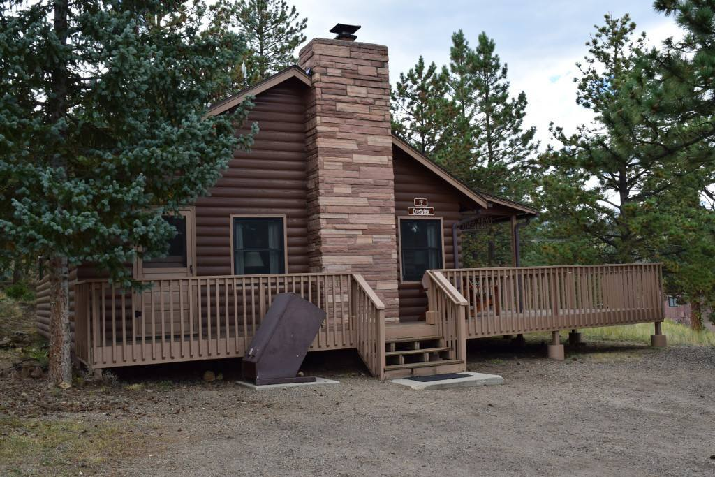 A cabin at the YMCA of the Rockies