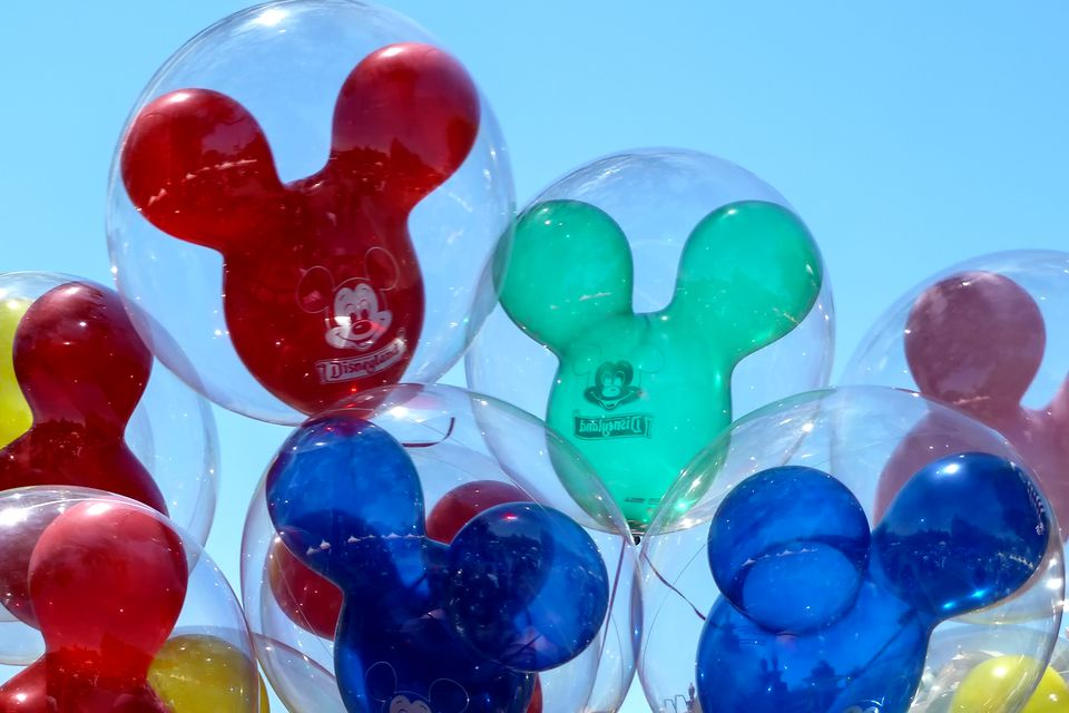 Balloons at Disneyland