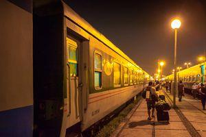 Ha Noi train station to Sa Pa, Vietnam