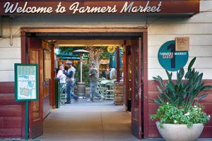 LA Farmers Market entrance
