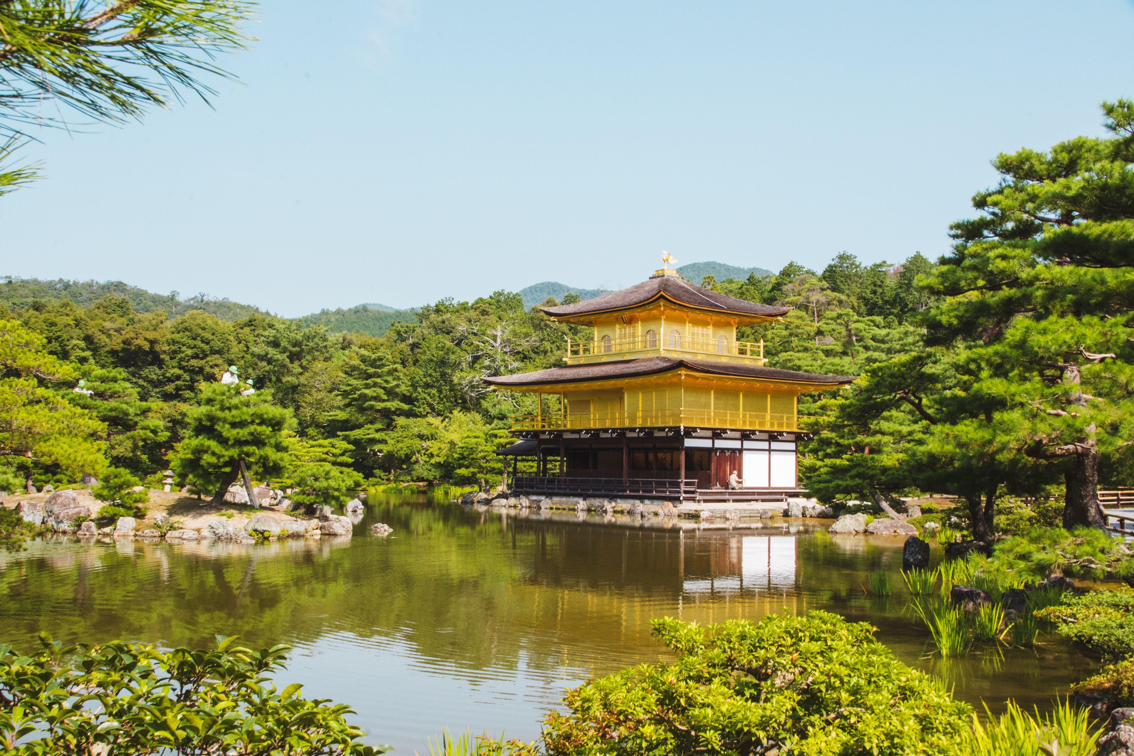 Kinkaku-ji en Kyoto