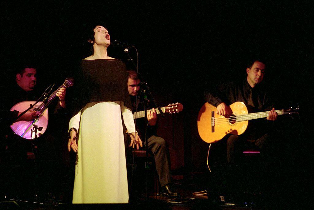 A Portuguese fado singer