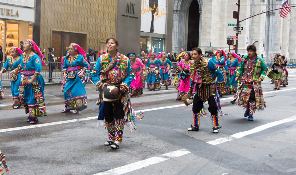 2016 Hispanic Day Parade in New York