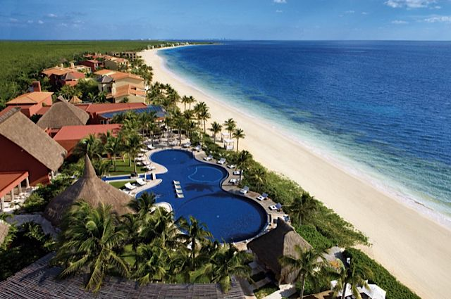 Zoetry Riviera Maya resort, where every room is beachfront