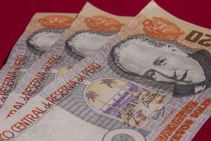 Soles, Peruvian Currency, Cusco, Peru