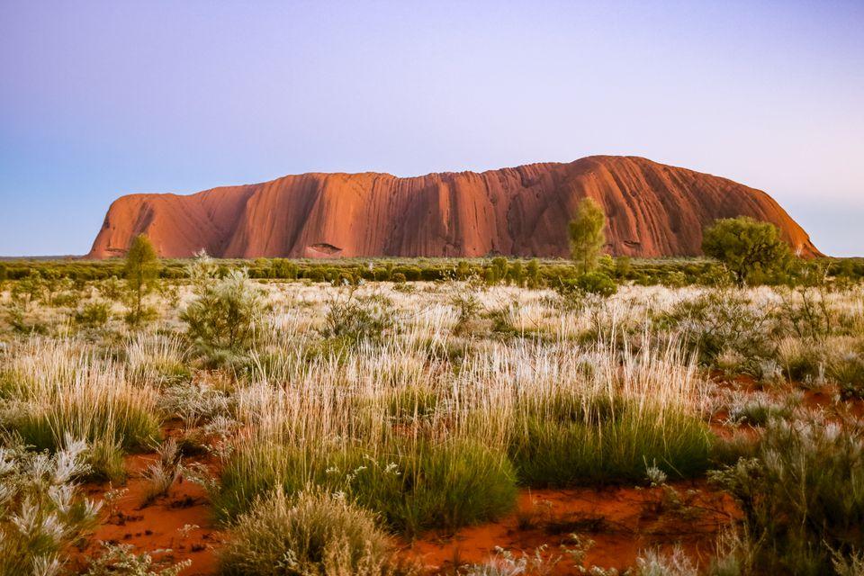 Ayer's Rock en Uluru