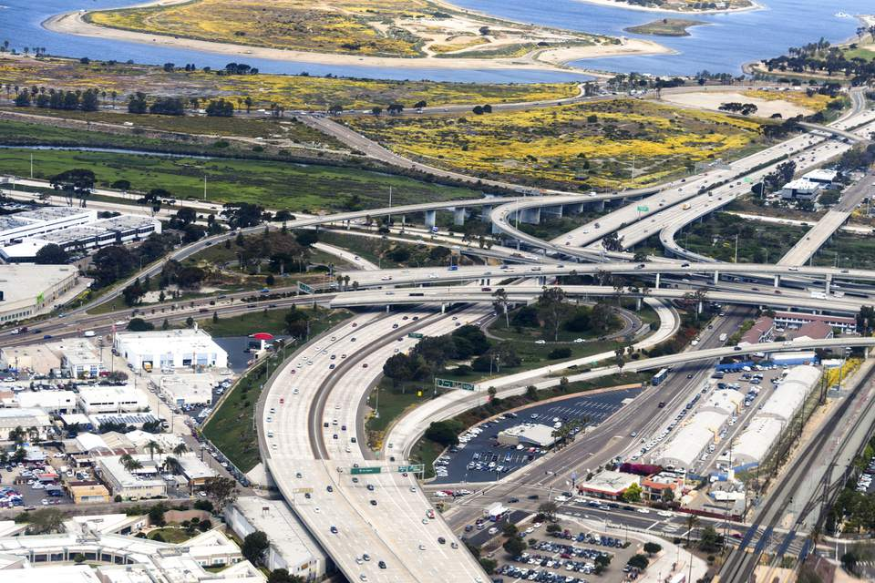 San Diego freeways