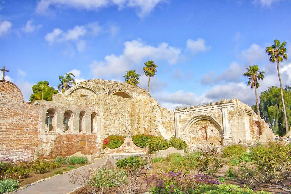 Ruins of Mission San Juan Capistrano
