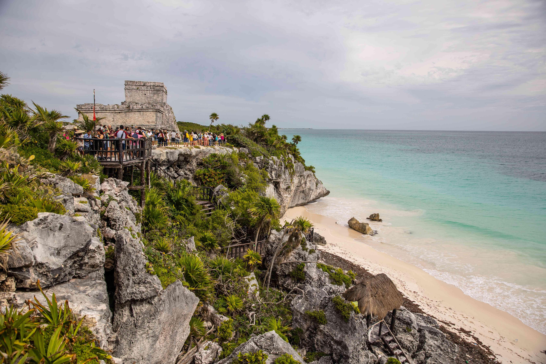 Tulum Ruinas beach