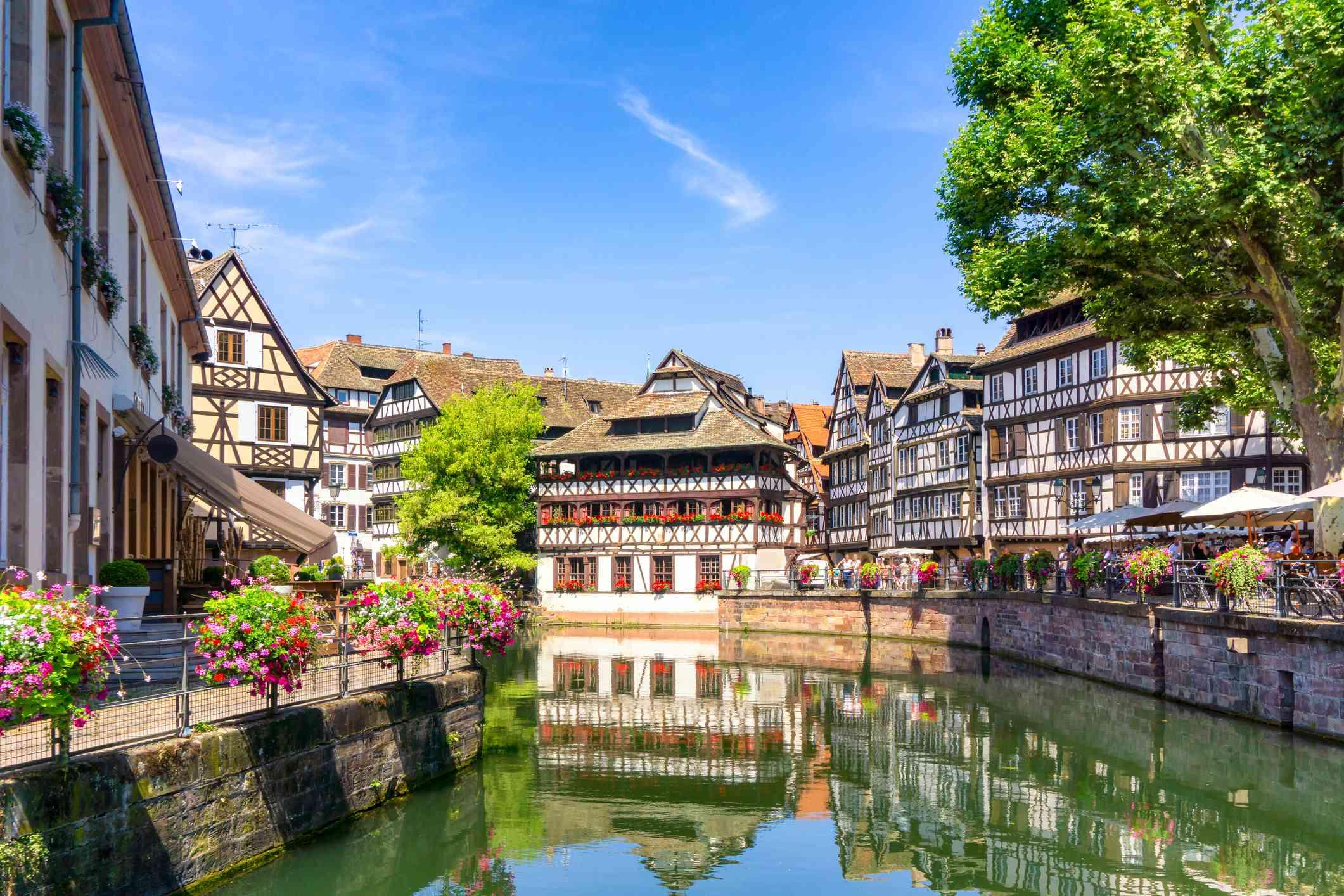 The Petit France district, Strasbourg