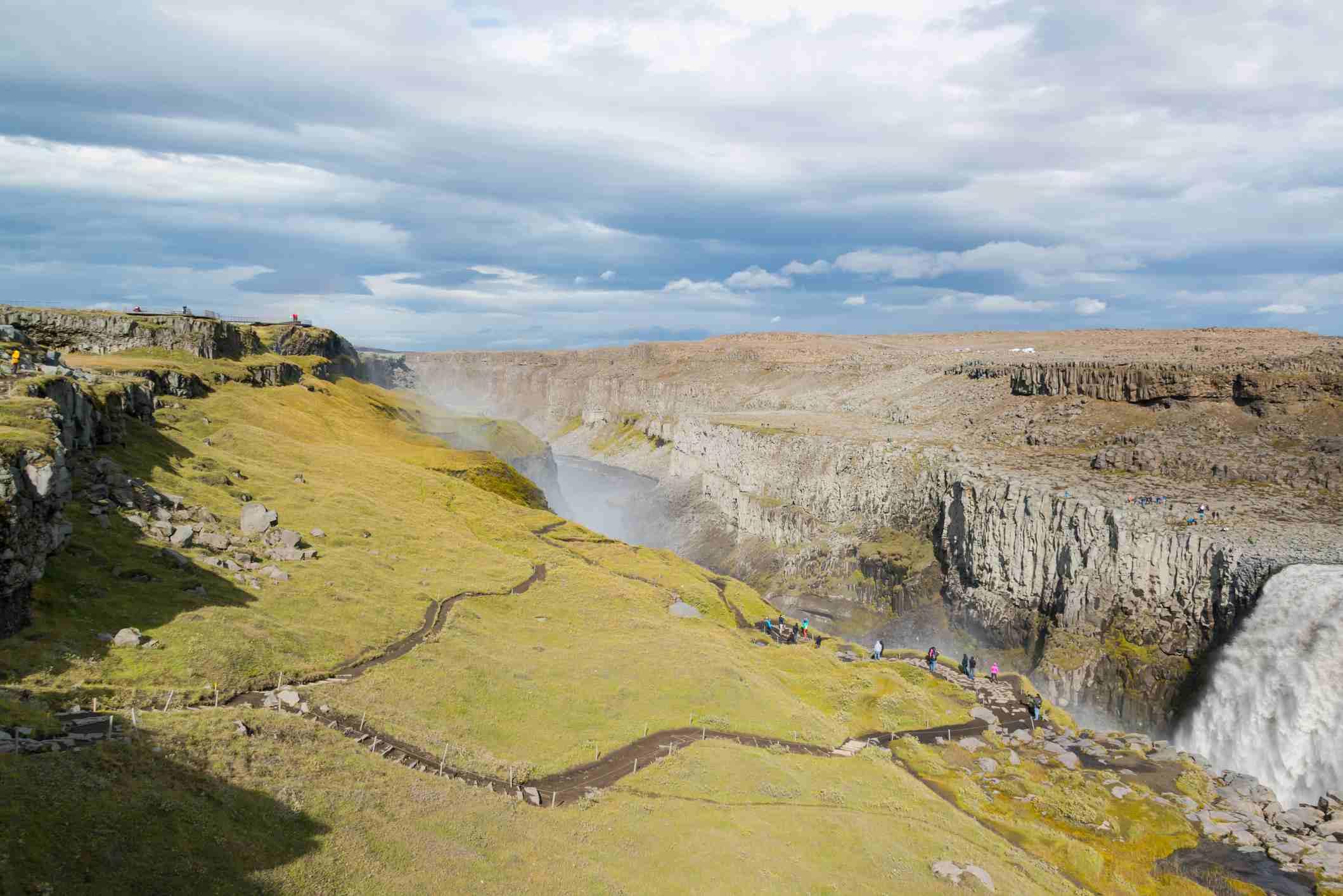 Dettifoss waterfall Iceland