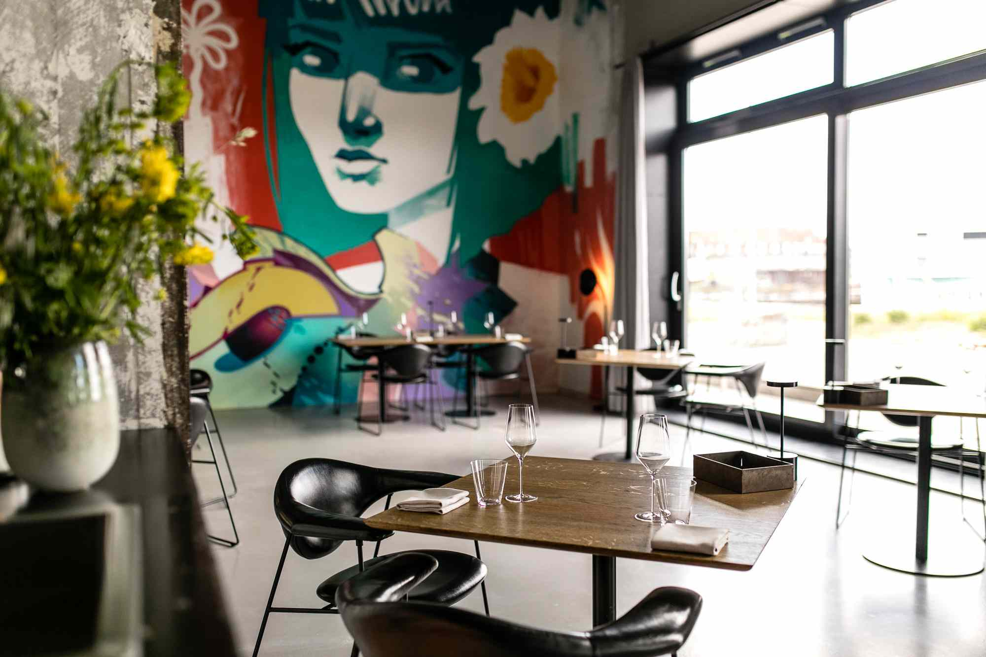 Amass Restaurant Interior