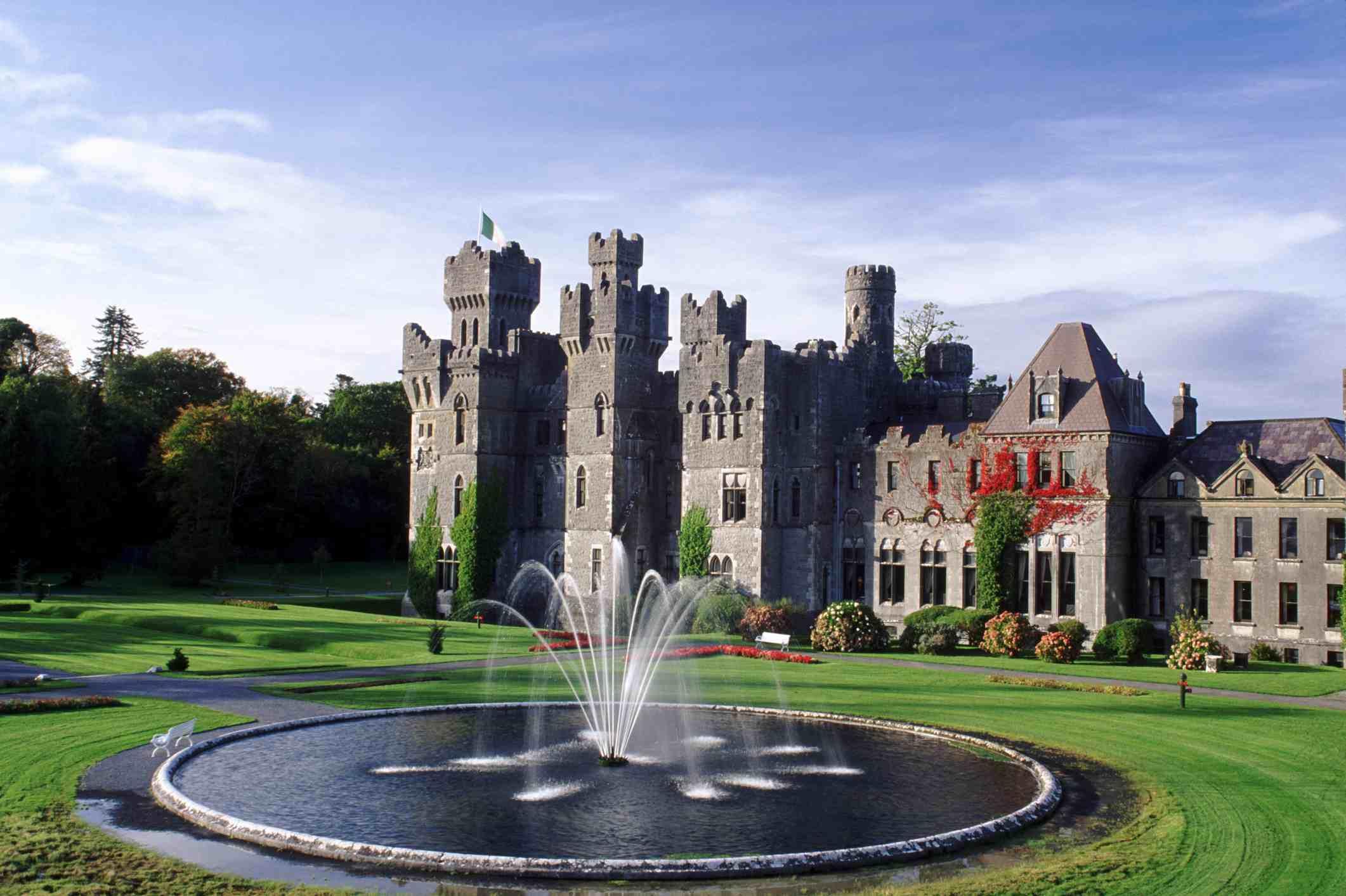 Castillo de Ashford, Cong - Condado de Galway, Irlanda