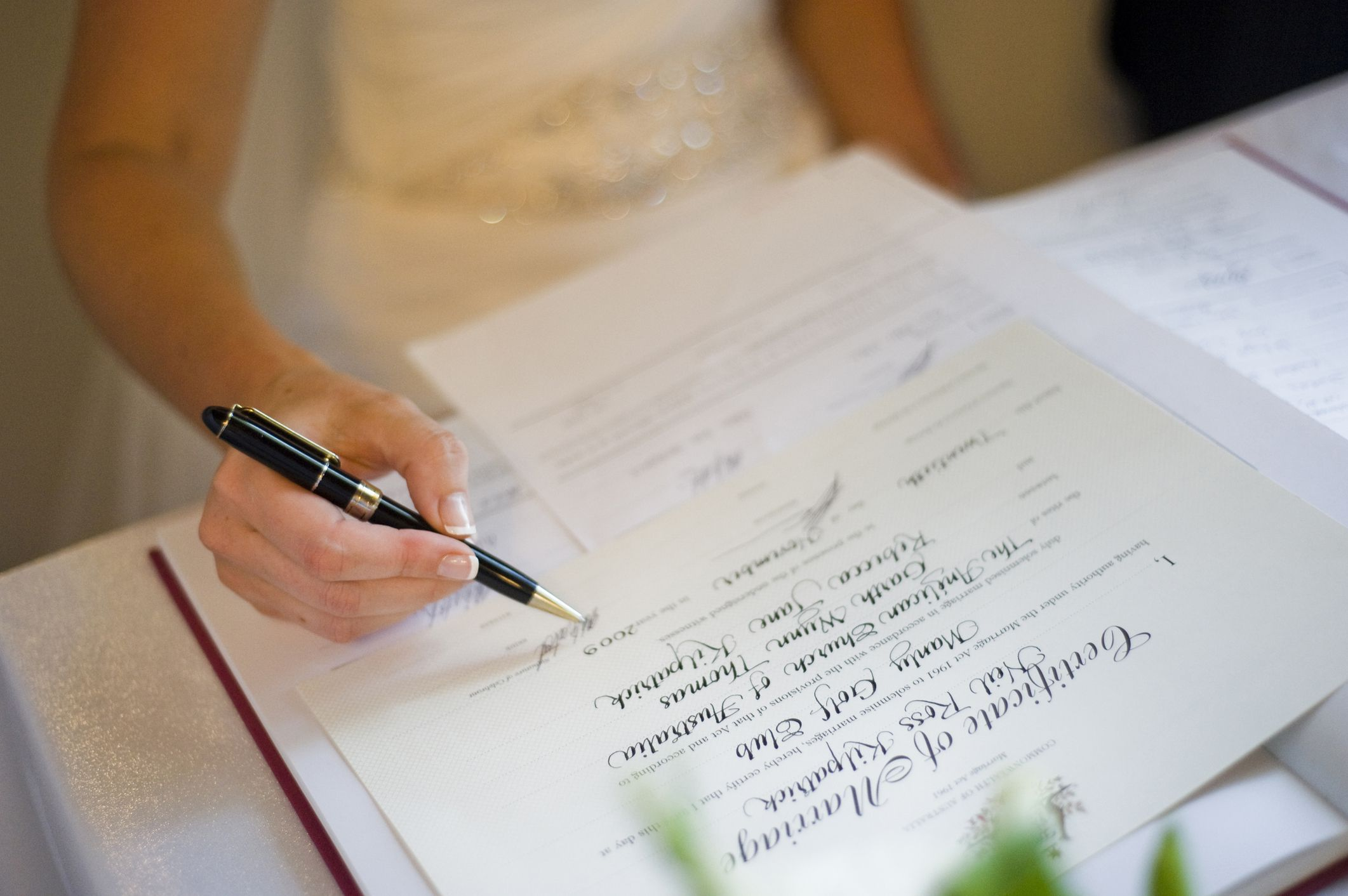 How to Get a Marriage License in Houston