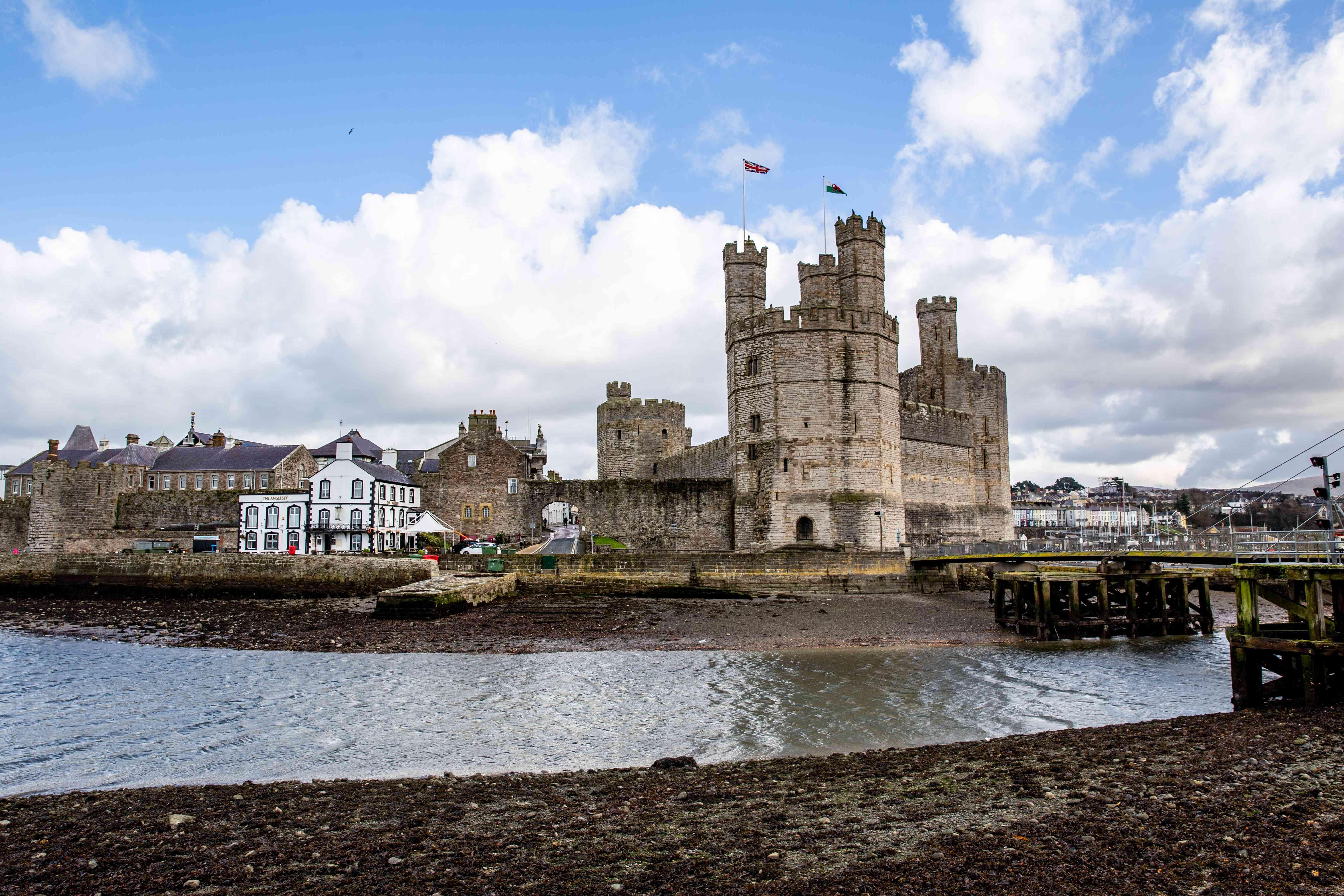 Exterior of Caernarvon Castle