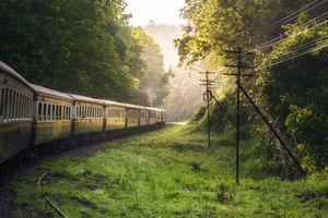 Train from Chiang Mai to Bangkok