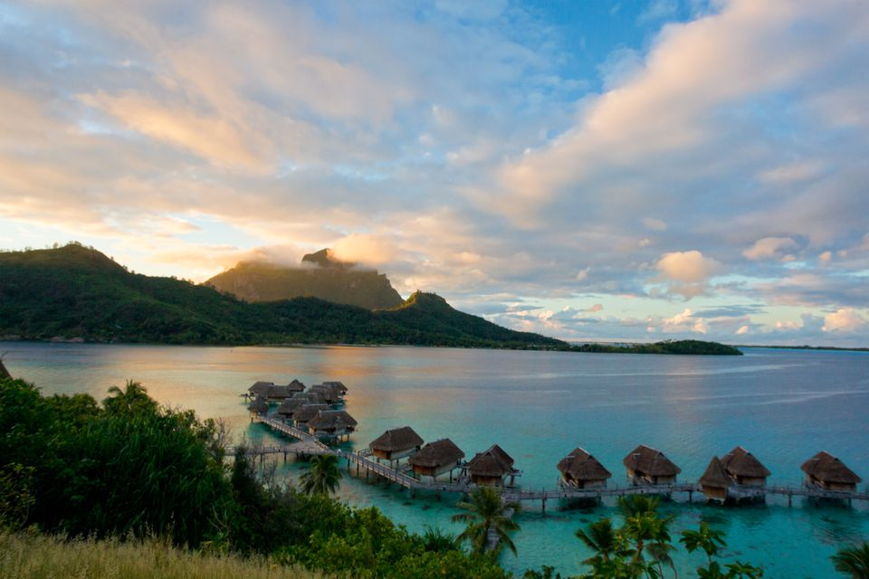 Bora-bora, Tahiti, French polynesia