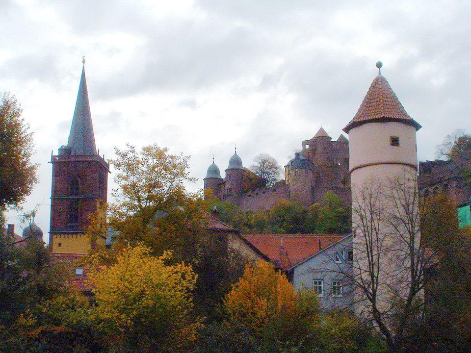 Wertheim City Gates and Castle