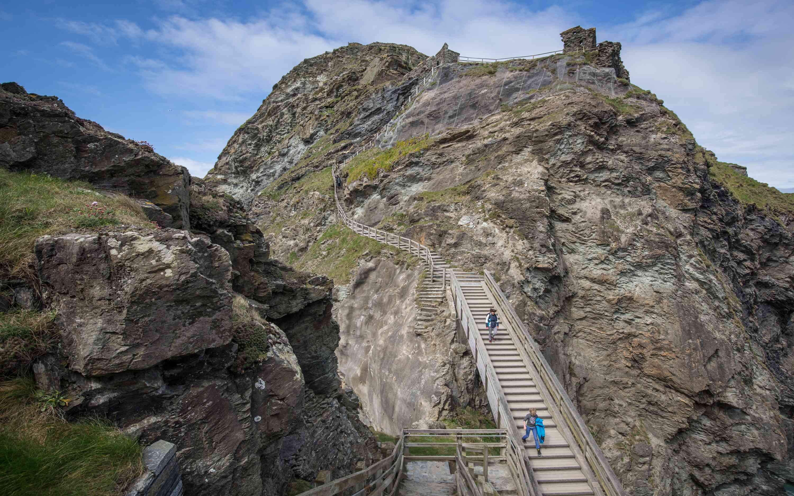 New Sculpture Revealed On The Historic Site At Tintagel