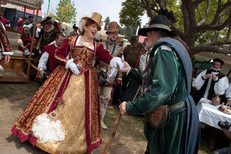 The Renaissance Faire Festivities In Los Angeles