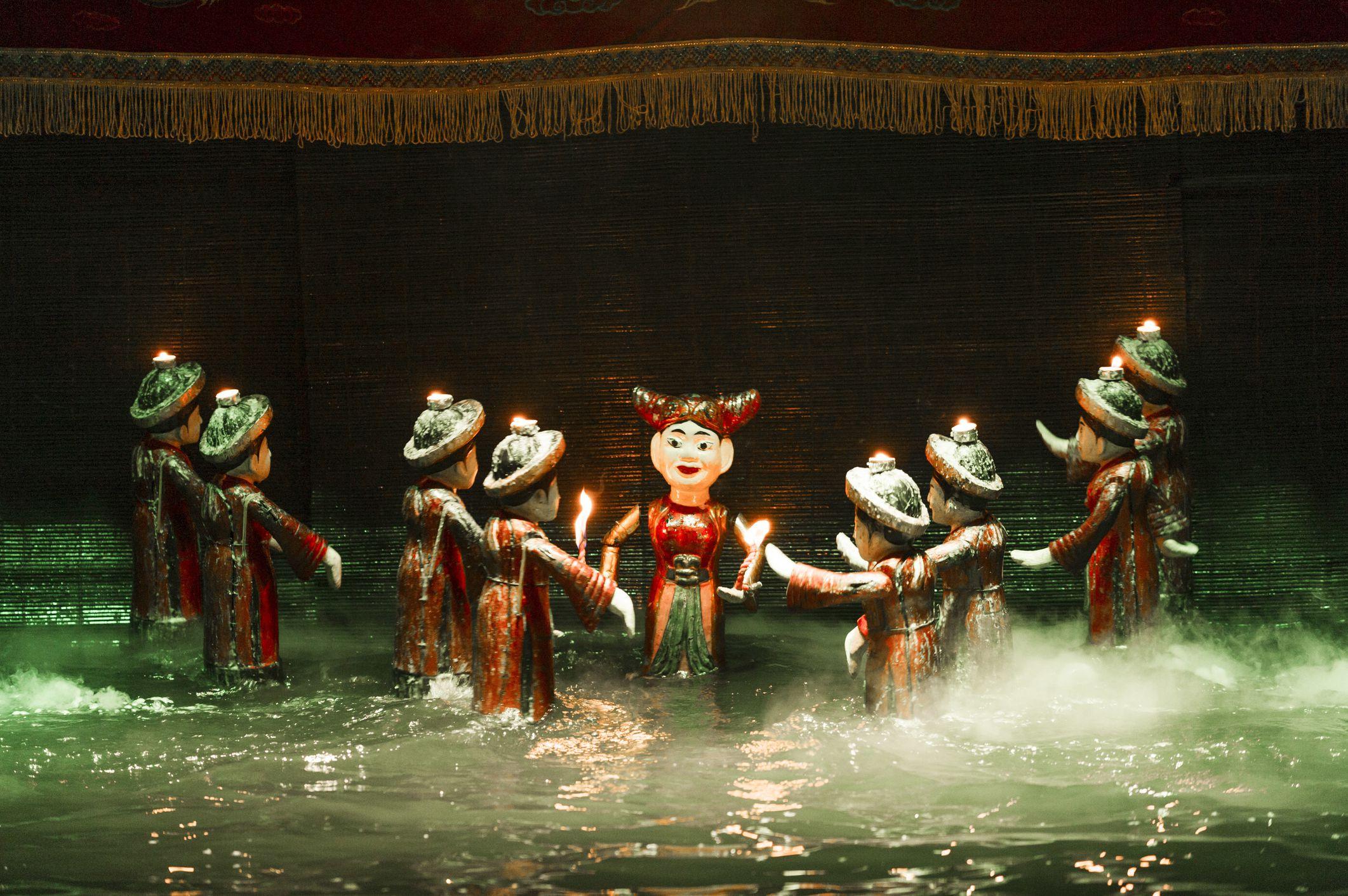 مسرح عرائس الماء هانوي