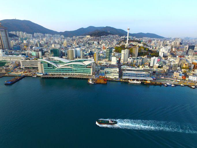 Cityscape of Busan, Busan, South Korea