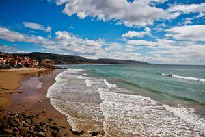 Beach in Marocco