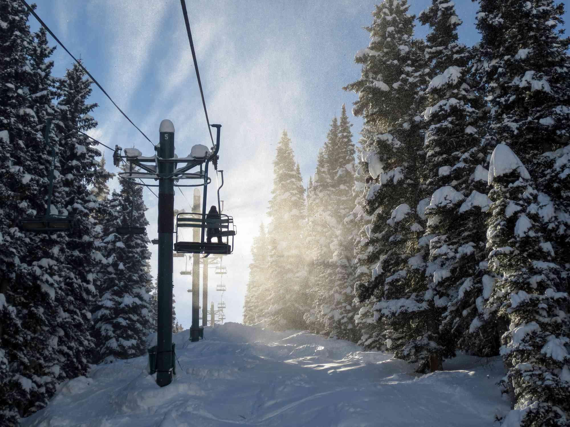 Ski lifts in Colorado
