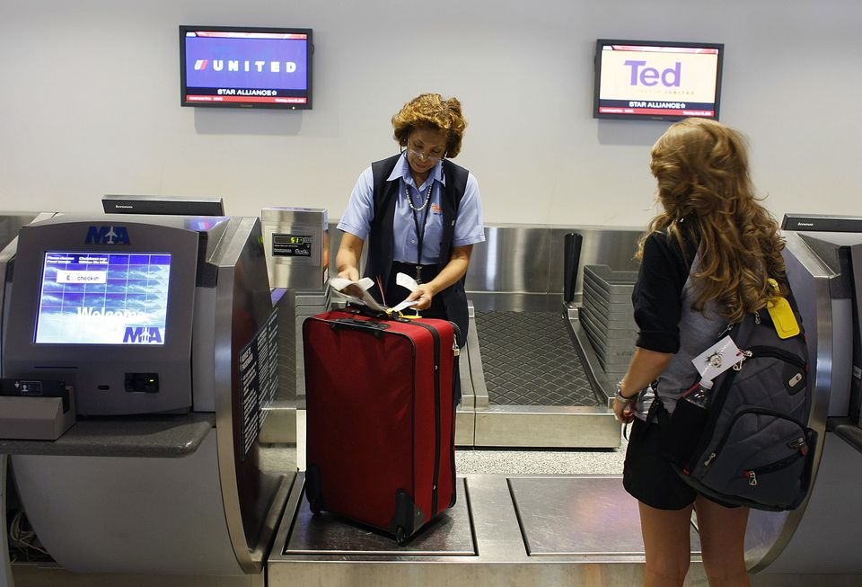 Some airlines charge for all checked bags.