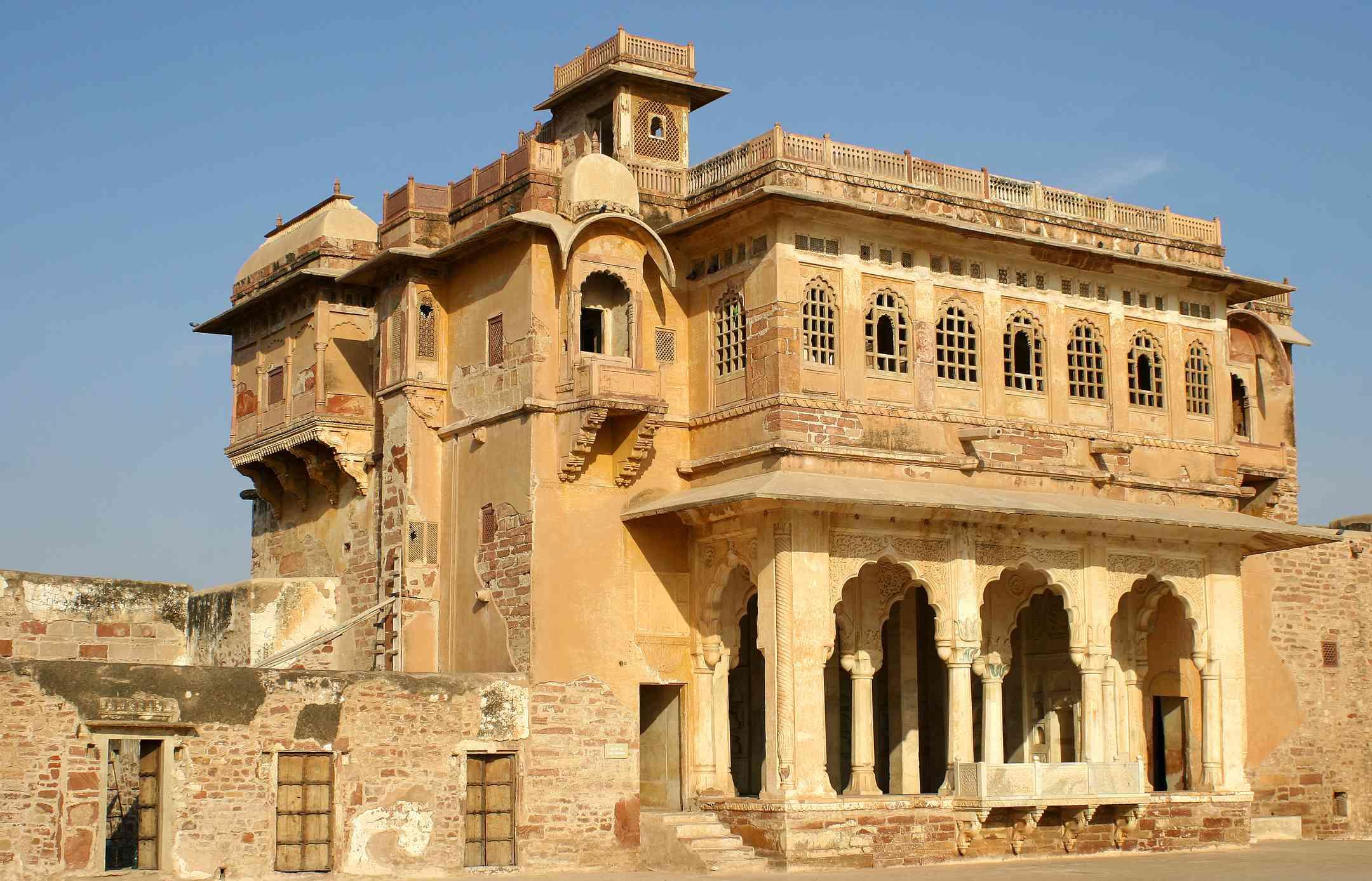 Nagaur fort, Rajasthan.