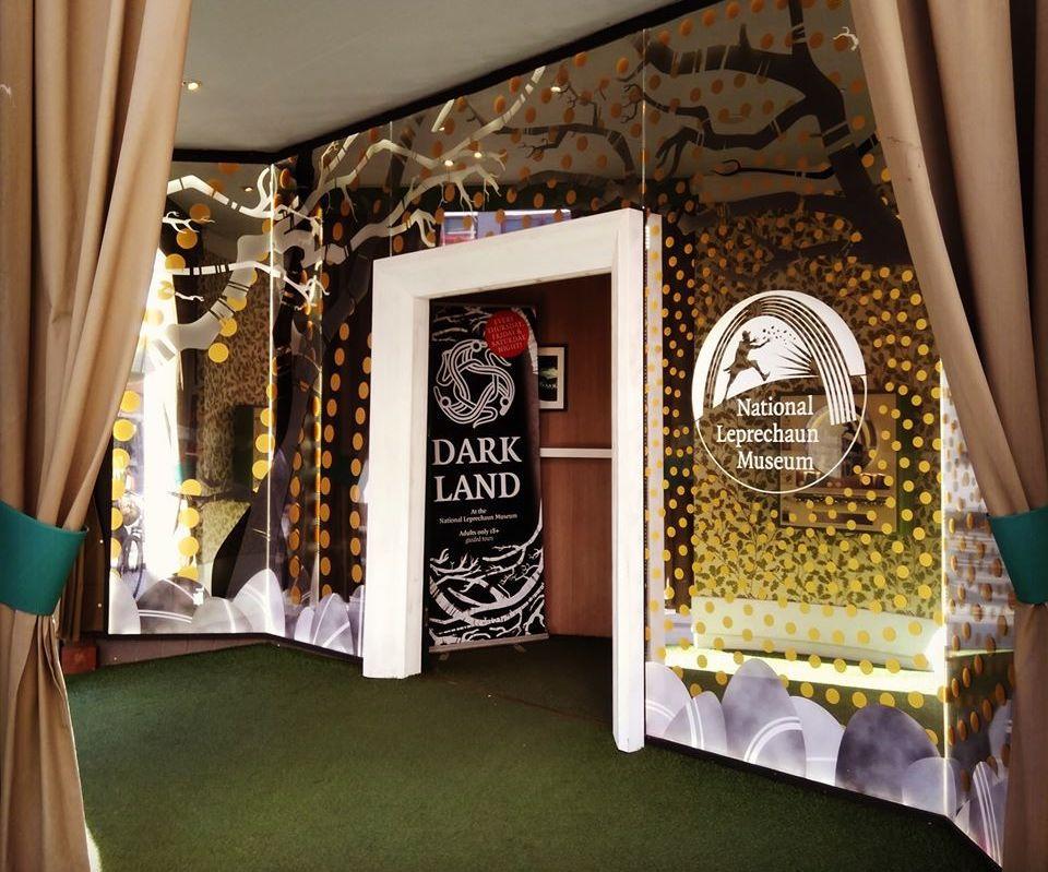 Entryway to Ireland's National Leprechaun Museum