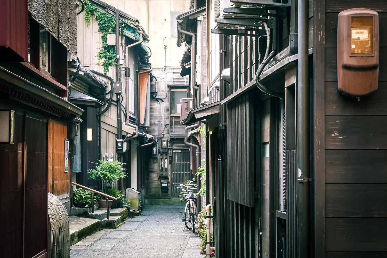 Side street in Kanazawa