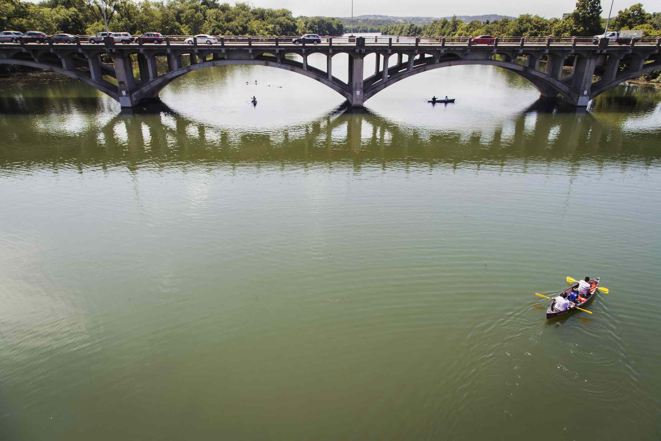 Kayak en Town Lake, Austin