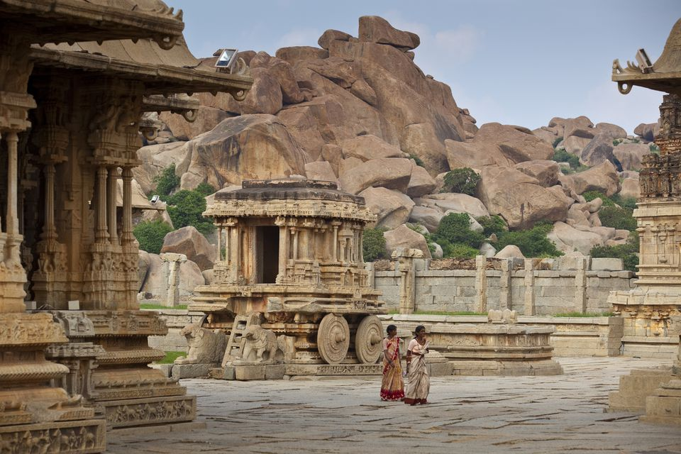Hampi, Karnataka, India.