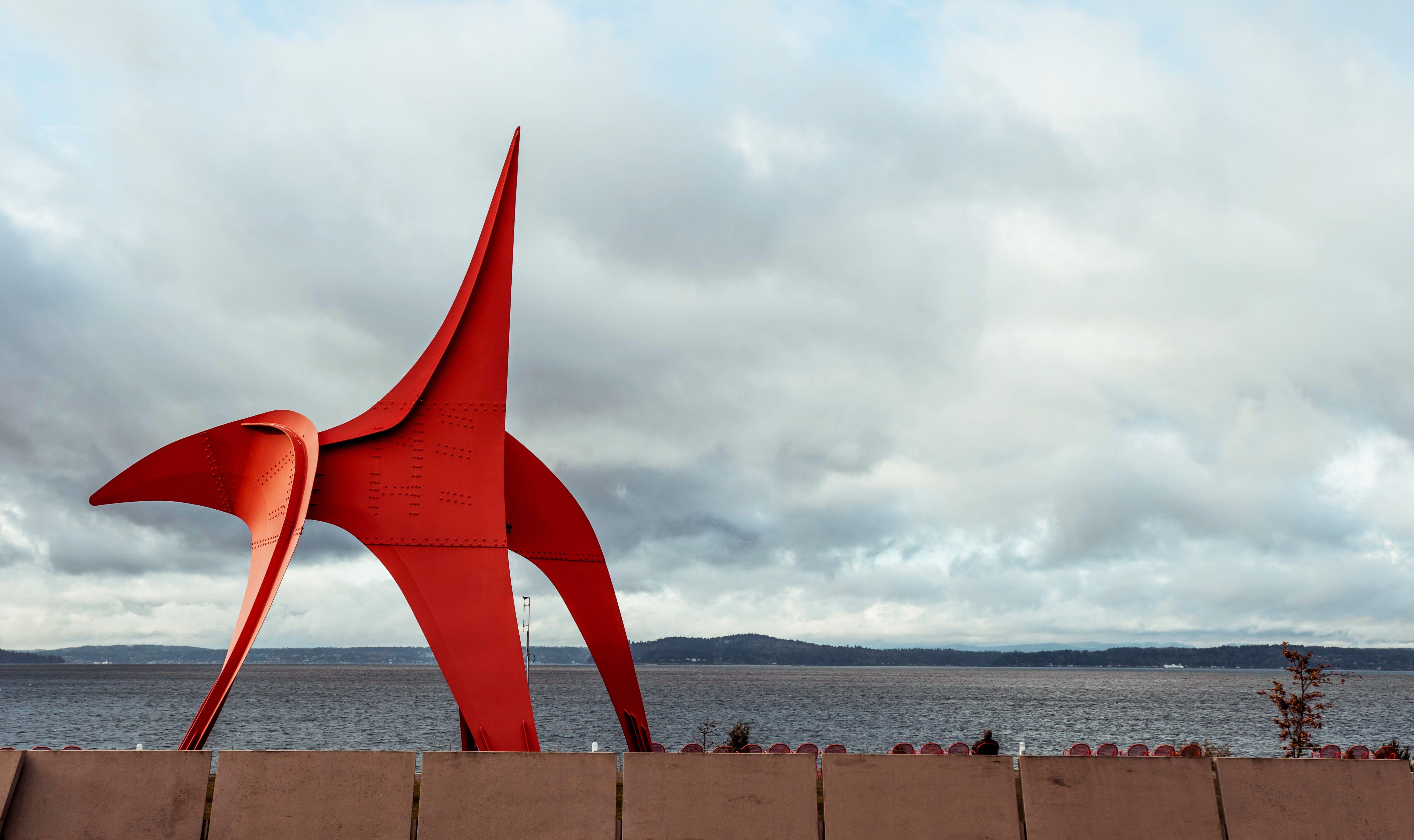 Una gran escultura pública de la agua