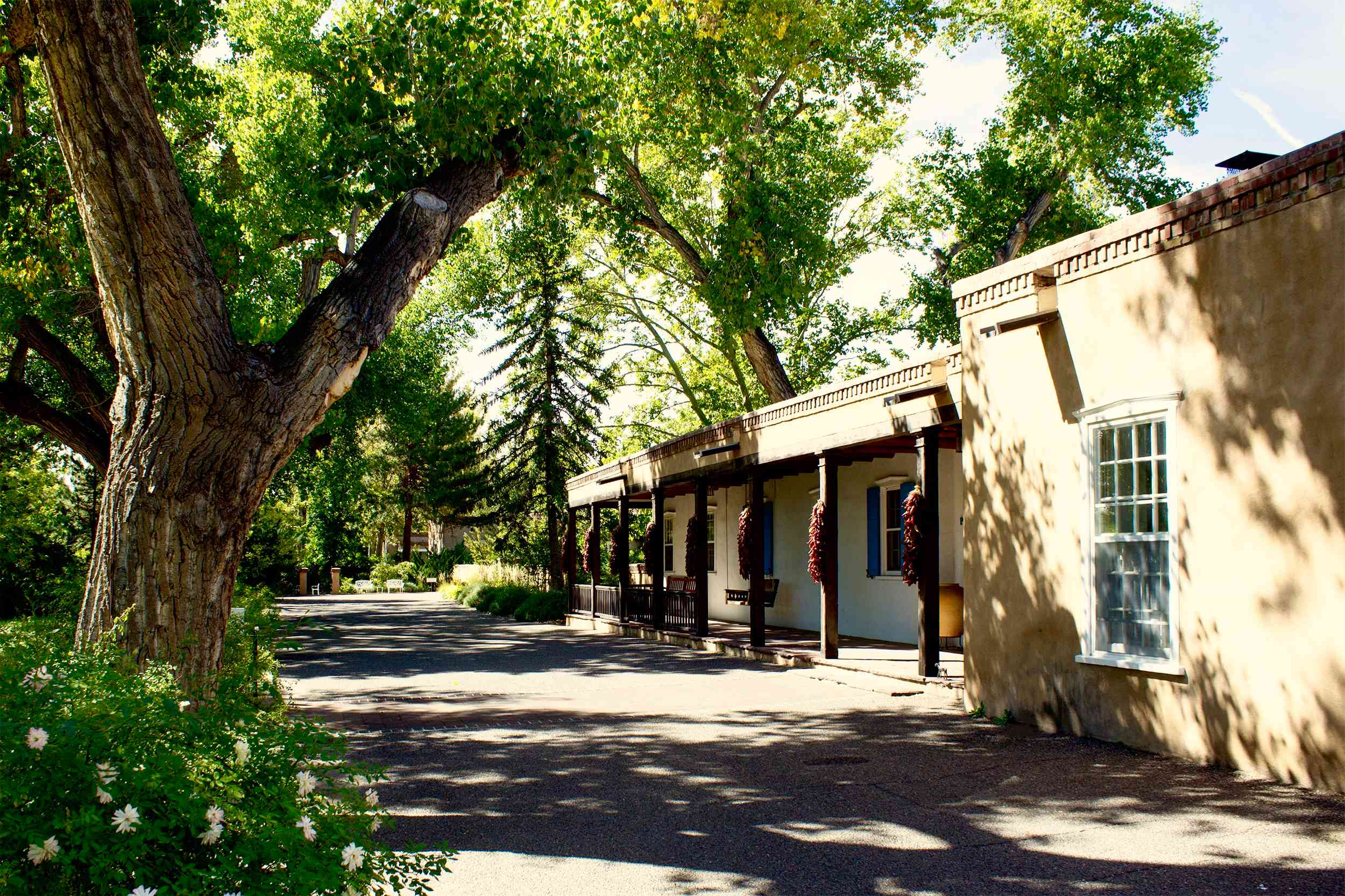 Los Poblanos, a historic inn set amidst 25 acres right in Albuquerque