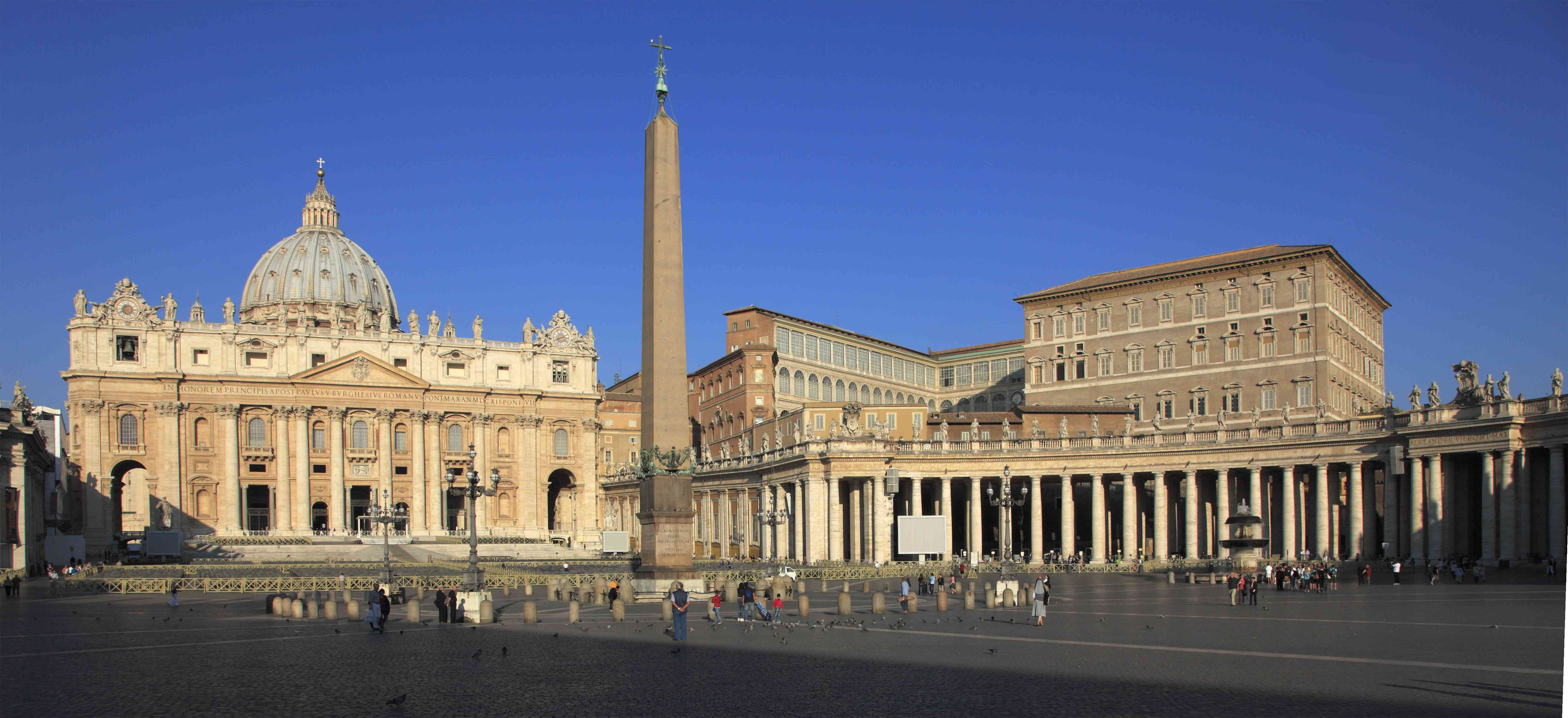 Vatican, St Peter's Basilica, Vatican Palace, St Peter's Square,