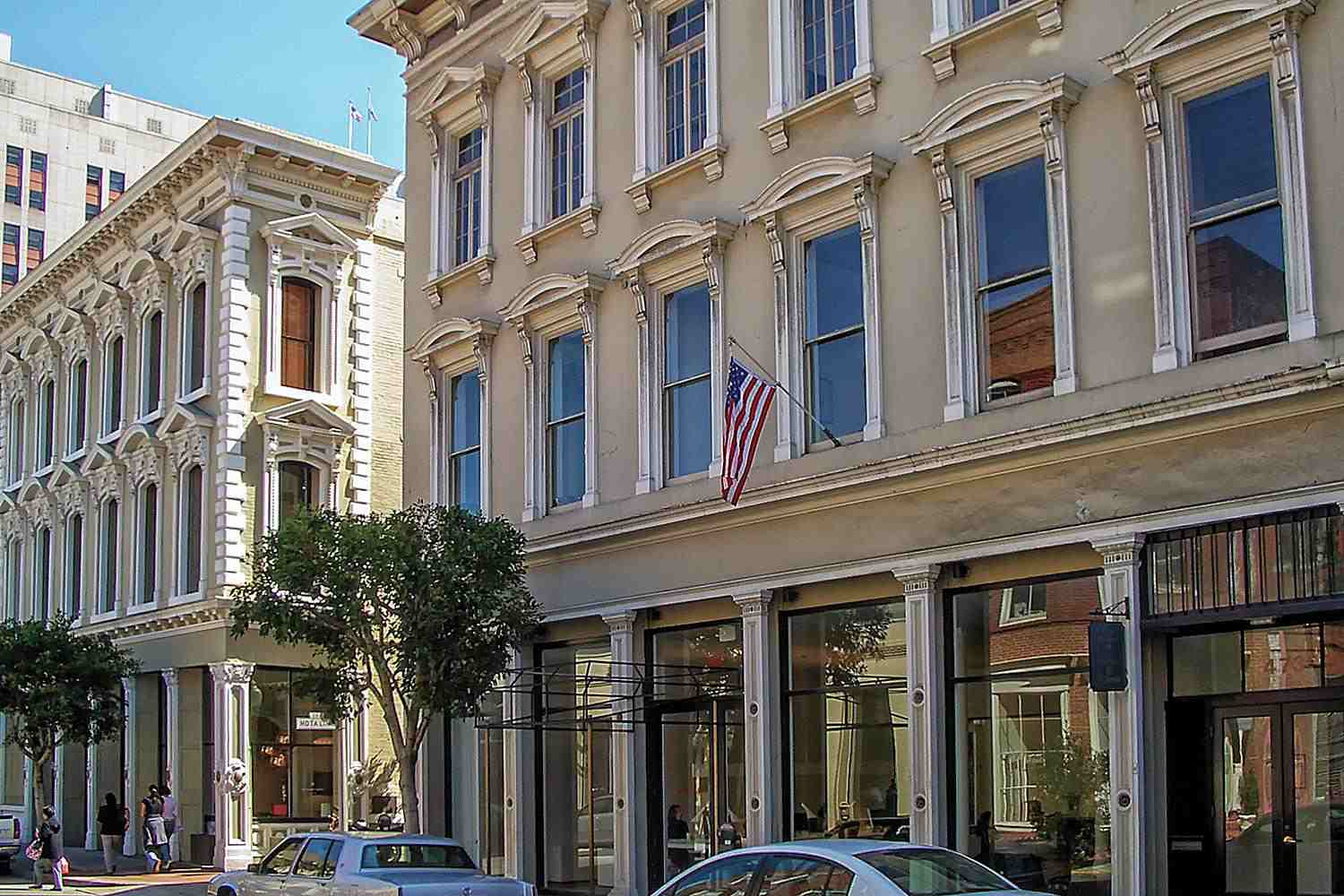 Hotaling Place in Jackson Square, San Francisco