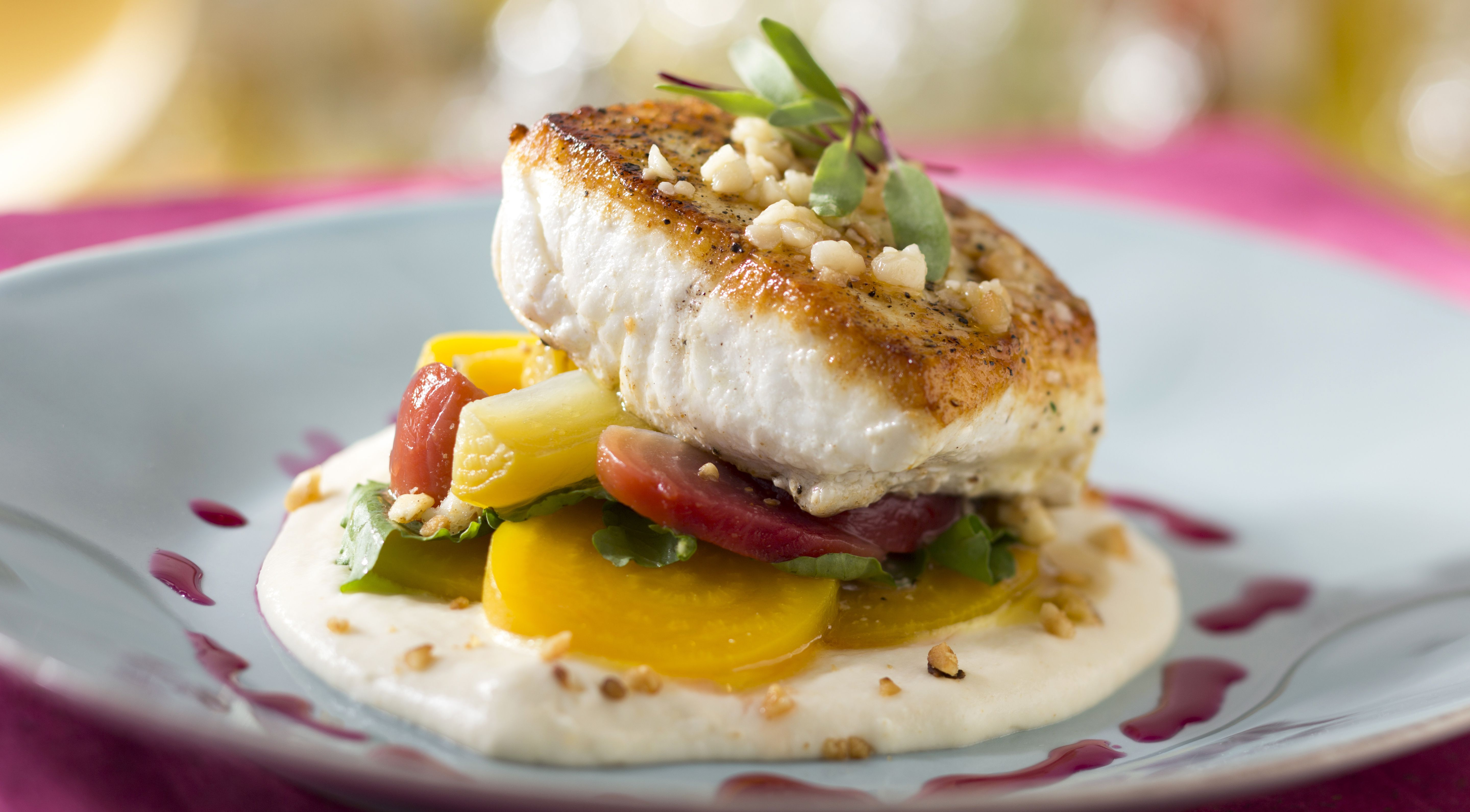 Pacific halibut at the re-imagined California Grill