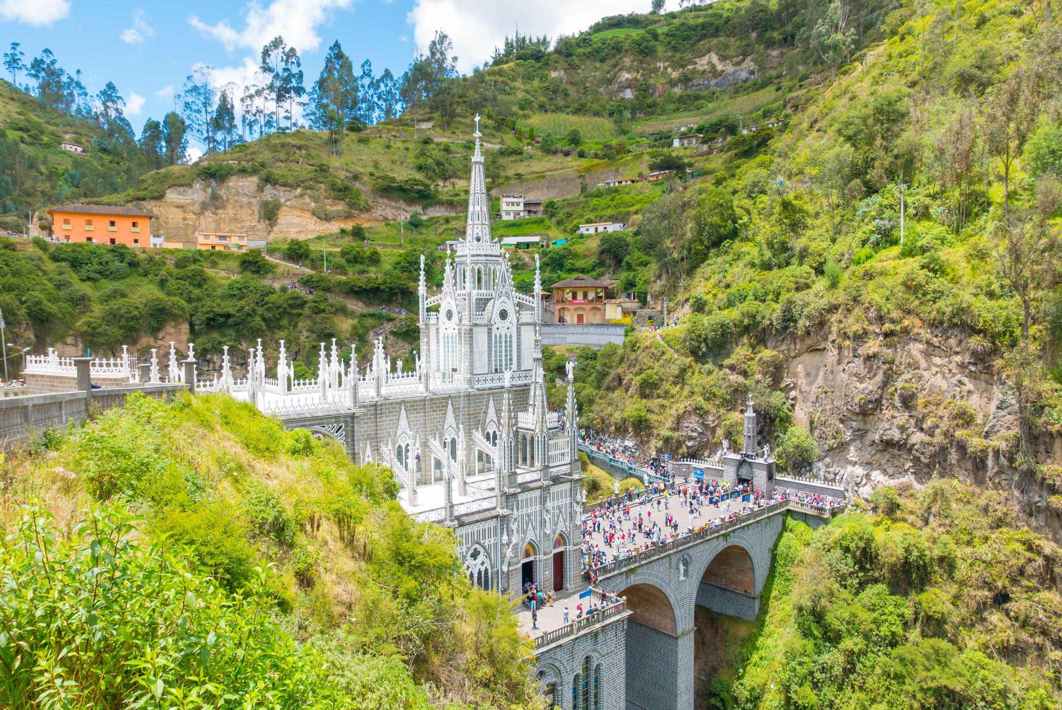 Sanctuary of Las Lajas Ipiales Colombia