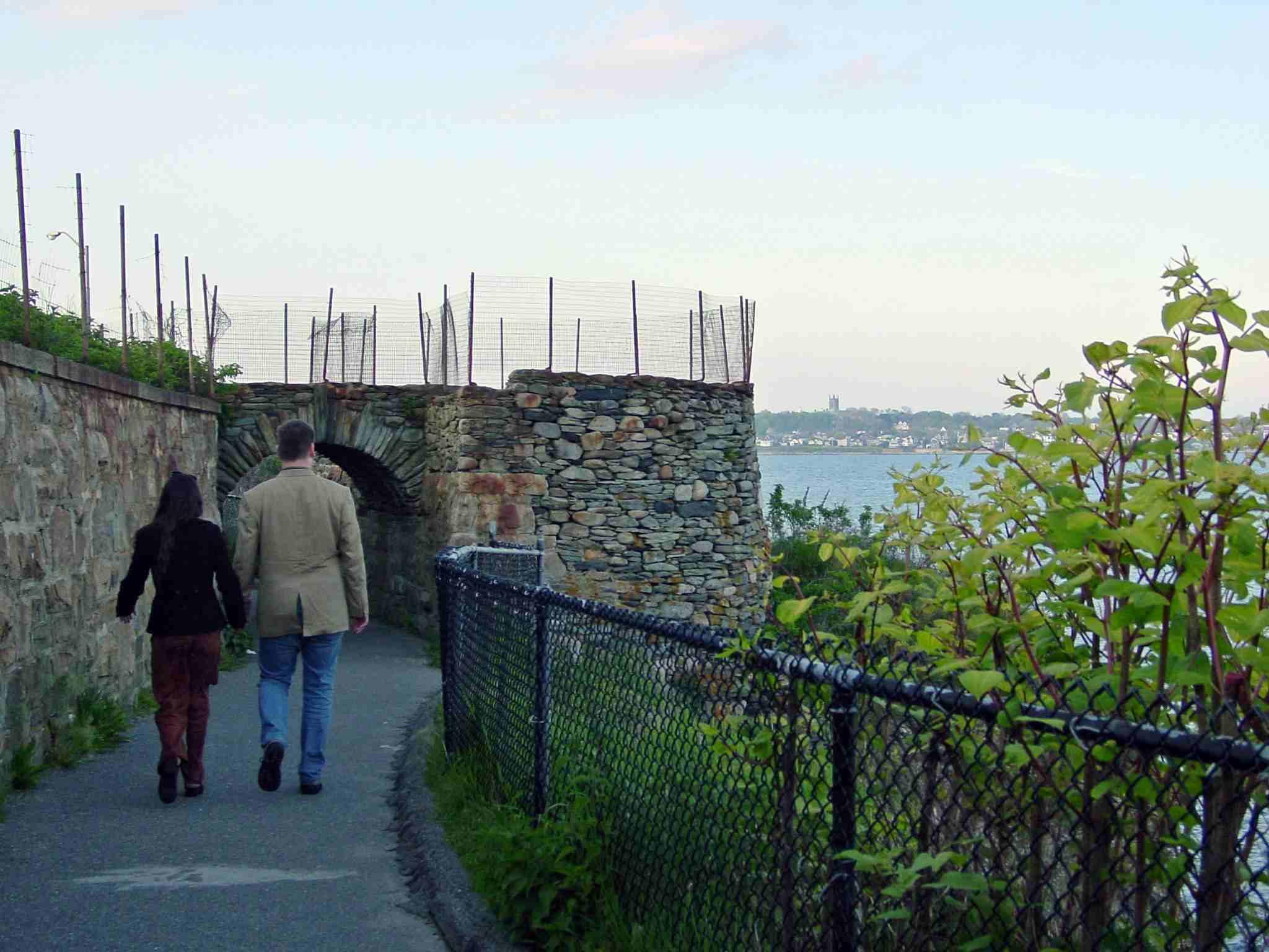 Romantic Walks - Newport Cliff Walk Photo